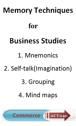 Memory techniques for Business Studies