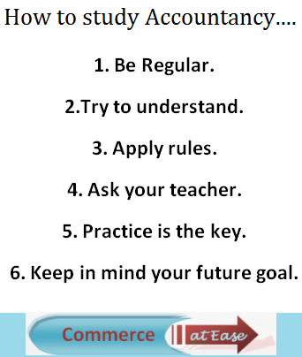 How to study Accountancy?