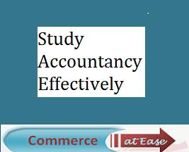 Study Accountancy Effectively